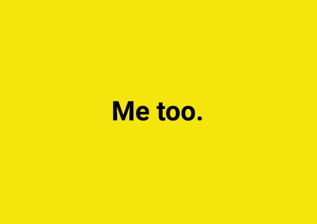 #MeToo, But God