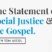 The Statement on Social Justice & The Gospel with Tom Ascol