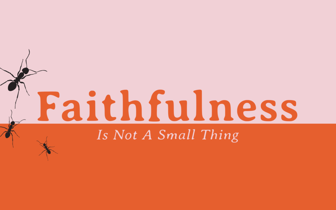 Faithfulness Is Not A Small Thing