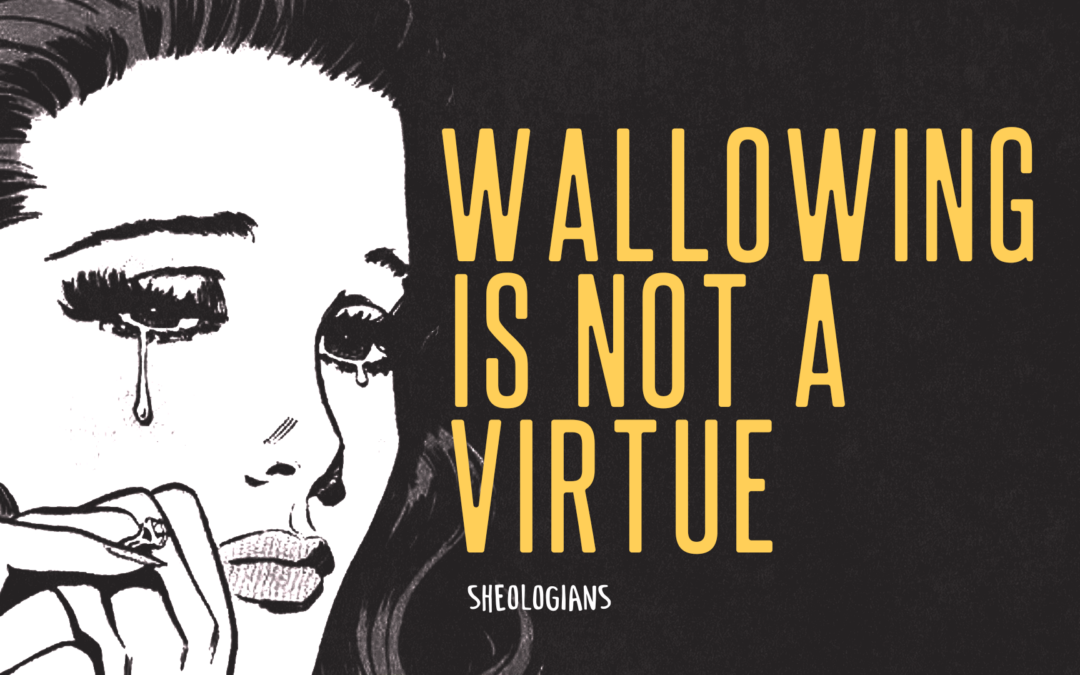 Wallowing is not a Virtue